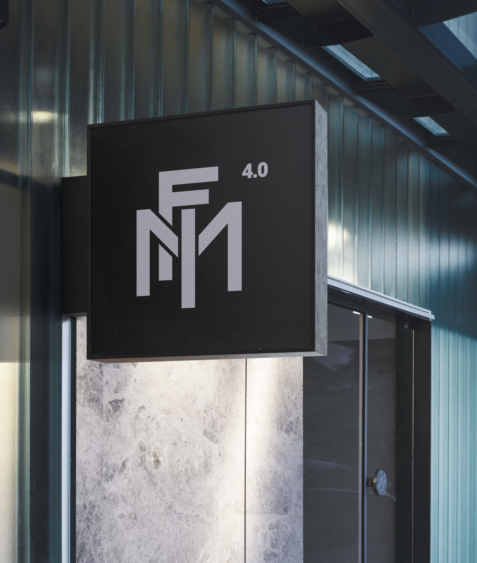 FMI logo su cartello